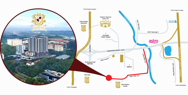 Contact Us - Kingsgate International School in Kuala Lumpur